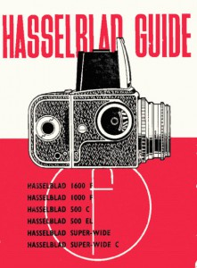 Hasselblad Guide 1600F, 1000F, 500C, 500EL, SW, SWC