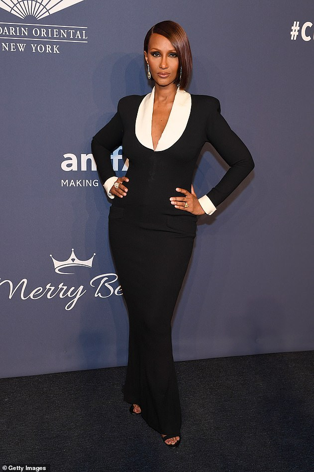 In the spotlight: The model, businesswoman, activist and philanthropist was honored at the annual amfAR New York Gala in February for her commitment to the fight against HIV/AIDS