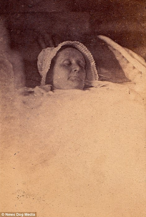 A middle-aged woman from Belgium, circa 1865