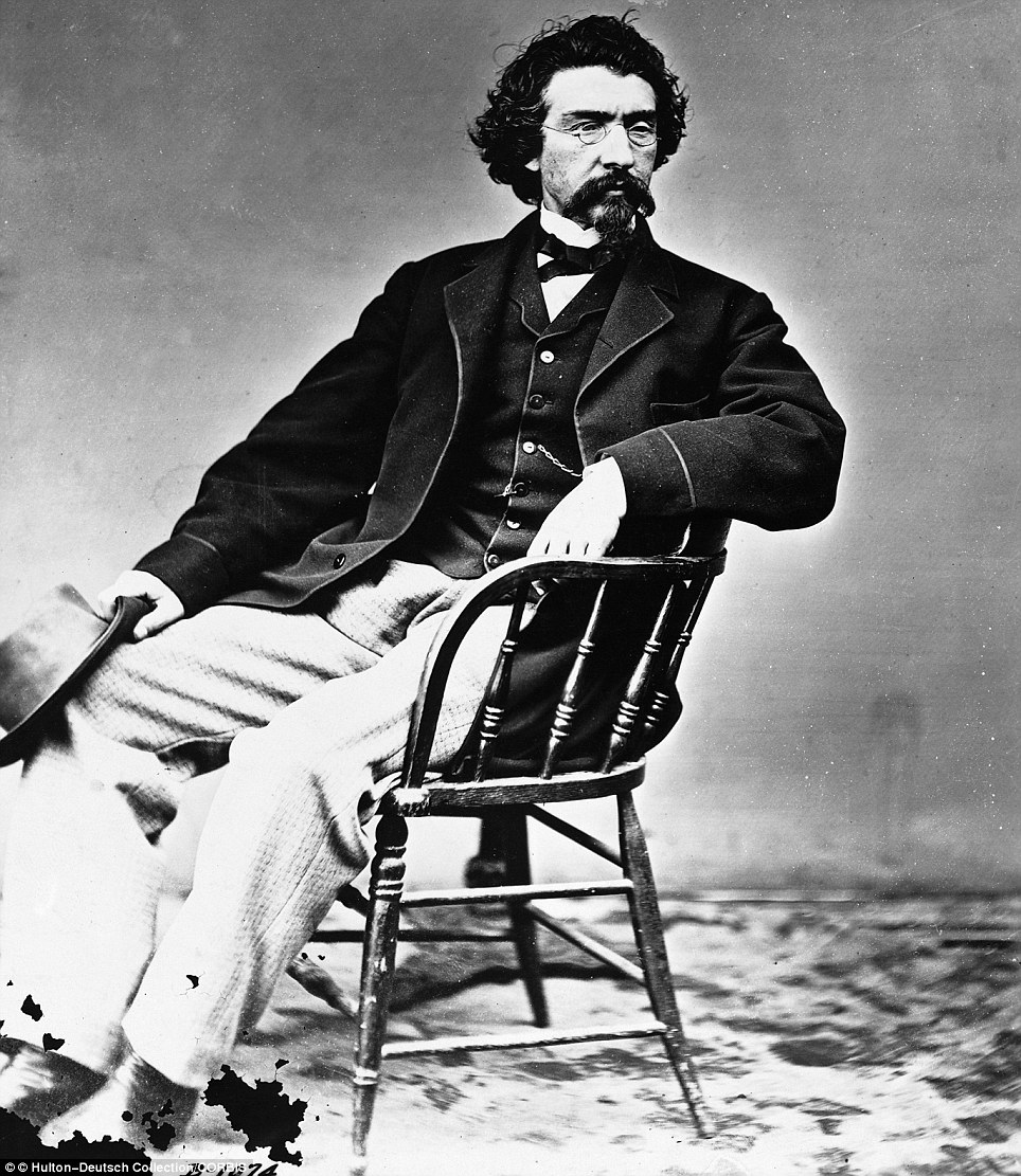 Photographer Mathew Brady became a successful and sought after photographer for the country